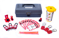 Electrical Lockout Kit, Toolbox