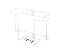 Glove Dispenser, Stores 2 Boxes, White, Steel