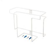 Glove Dispenser, Stores 2 Boxes, White, Steel