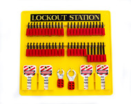 Lockout Station with 48 Locks