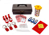 Economy Lockout Tagout Tool Box Kit