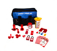 Deluxe Electrical Lockout Bag Kit