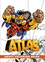 Atlas - Adult Coloring Book