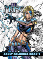 10th Muse: Adult Coloring Book: Volume 2