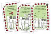 """The """"Ladybug"""" Trilogy (Follow the Ladybug, Baruch Hashem, Are You Listening?)"""