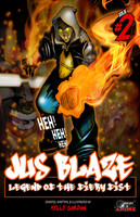 Jus Blaze - Legend of the Fiery Fist: Issue 2