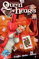 Alice In Wonderland's Queen of Hearts #1