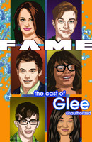 Fame: Cast of Glee #1