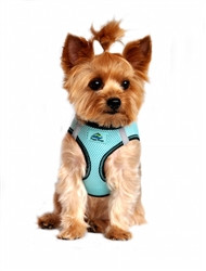 Aruba Blue Top Stitch American River Choke Free Dog Harness