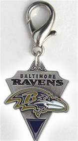 Baltimore Ravens Dog Collar Charm