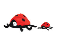Mighty Toy - Lala the Ladybug Dog Toy