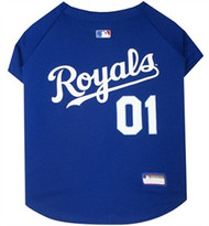 Kansas City Royals Baseball Dog Jersey
