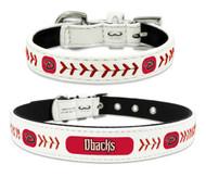 Arizona Diamondbacks Leather Dog Collar