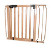 Auto Lock Pressure Dog Gate - Wood