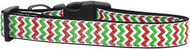 Christmas Sparkle Chevron Dog Collar