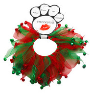 Jingle Bells Dog Party Collar