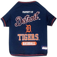 Detroit Tigers Baseball Dog Shirt