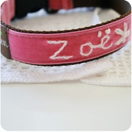 Zoe' Personalized Dog Collar