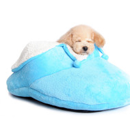 Slipper Dog Bed- Pink or Blue