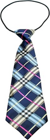 Plaid Dog Neck Ties