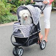 Black Onyx Promenade Dog Stroller up to 50lbs
