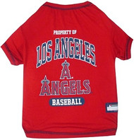 Los Angeles Angels Baseball Dog Shirt
