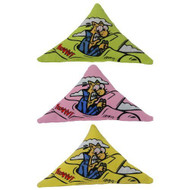 PurrrMuda Triangles Catnip Toys 3-pack