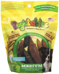 Pegetables Mixed Medium Chew Supplements, 18-Ounce Value Size Bag