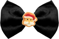 Santa Face Dog Bow Tie