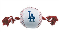 Dodgers Rope Plush Dog Toy