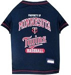 Minnesota Twins Baseball Dog Shirt