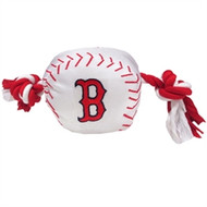 Boston Red Sox Rope Plush Dog Toy
