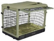 The Other Door™ Steel Dog Crate - Sage
