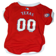 Texas Rangers Jersey for Dogs