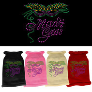 Mardi Gras Rhinestone Knit Sweater (Various Colors)