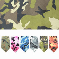Camo Bandana (Multiple Colors)