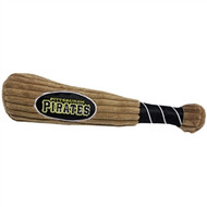 Pittsburgh Pirates Plush Dog Bat Toy