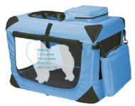 Extra Small Deluxe Soft Dog Crate, Generation II - Ocean Blue