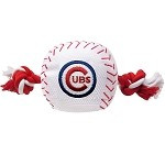 Chicago Cubs Baseball Rope Dog Toy