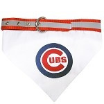 Chicago Cubs Dog Bandana Collar