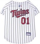 Minnesota Twins Baseball Dog Jersey