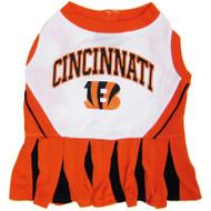 Cincinati Bengals Cheerleader Dog Dress