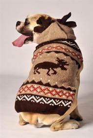Moosey Hoodie Dog Sweater