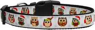 Snowy Owls Dog Collar