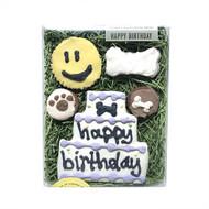 Happy Birthday Dog Treat Box