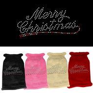 Merry Christmas Rhinestone Sweater ( Various Colors)