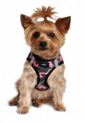 Pink Camo American River Choke Free Dog Harness