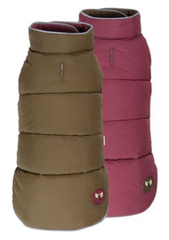Moose Reversible Dog Puffer Vest