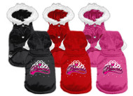 Princess Hooded Dog Coat