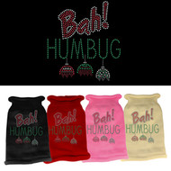 Bah Humbug! Rhinestone Dog Sweater (Various Colors)